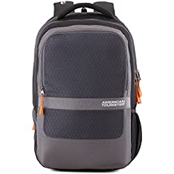 American Tourister 29 Ltrs Black Laptop Backpack (AMT TECH Q Laptop BKPK01 Black)