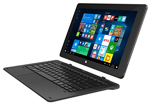 """TrekStor SurfTab Twin 11,6"""" 2in1 Tablet, 4G/LTE Full HD Windows 10, layout della tastiera QWERTY"""