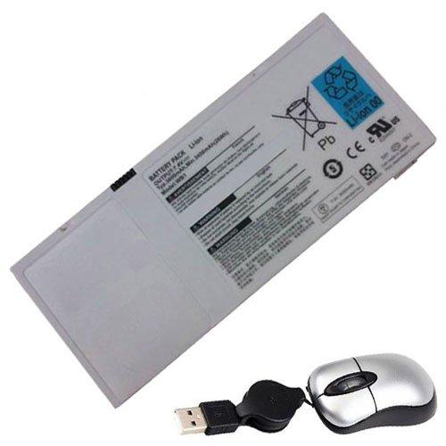 """amsahr 2UF553450-3-TO318-05 Ersatz Batterie für Gigabyte """"(7.4 V, 3600 mAh)"""" schwarz"""
