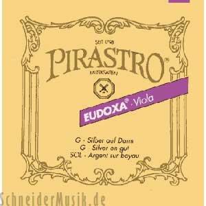 PIRASTRO 224022 EUDOXA VIOLA MEDIO  RECTO (STIFF)