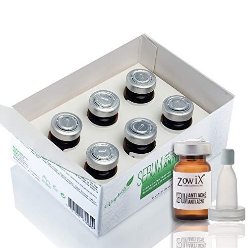 ZOWIX Serum Anti Acné con Acido Salicílico. Tratamiento facial contra el Acné que reduce Espinillas, Puntos Negros y Granos. Sin Parabenos, ideal para Veganos.