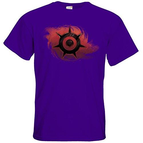 getshirts - Das Schwarze Auge - T-Shirt - Götter und Dämonen - Dämonenkrone Purple