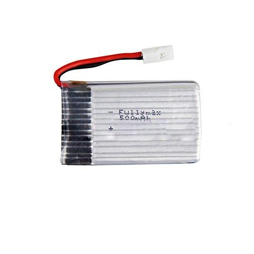 Batterie au lithium de 3 7V 500mAh pour le drone de quadcopter de RC de  SYMA X5C / X5S / X55 / X5SW / M68 / CX-30