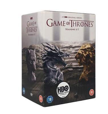 Game Of Thrones Season 1-7 DVD UK import (Dvd Of 1 2 Thrones Game 4 3)