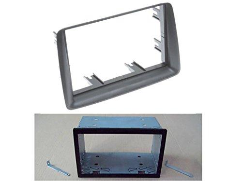 colore: grigio con cavo adattatore antenna per autoradio 2 DIN modello WM-6135S1 set mascherina radio Watermark