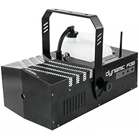 EUROLITE DMX-fogger antiniebla Dynamic 2000 con temporizador + Ripslinger