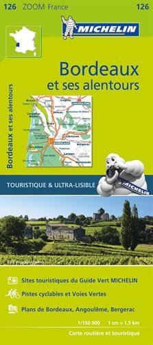 Carte Bordeaux et ses alentours Michelin par Collectif Michelin