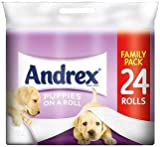 Andrex Puppies On A Roll 24 Roll