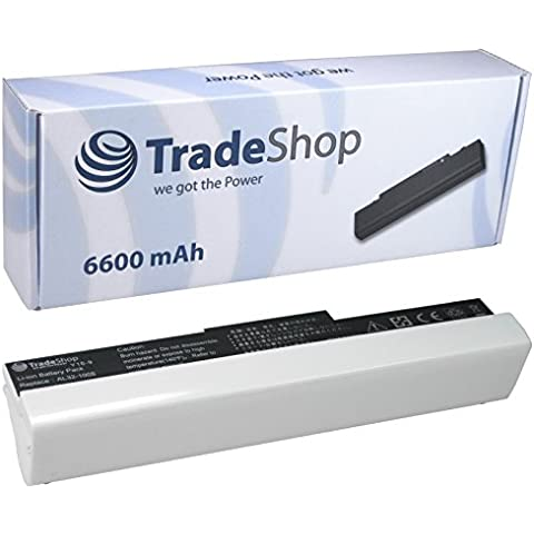 Hochleistungs Laptop Notebook AKKU 6600mAh für Asus EeePC 1005 1005H 1005HA 1005HA-A 1005HAB 1005HA-E 1005HA-P 1005HA-V 1005-HA 1005-HA-A 1005-HAB 1005-HA-E 1005-HA-P 1005-HA-V