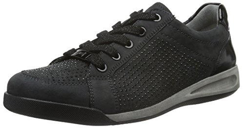 Ara Ladies Rome 12-44458 Sneaker Gray (corvo, Nero 05)