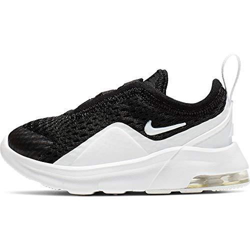 Nike Unisex Baby Air Max Motion 2 (TDE) Niedrige Hausschuhe, Schwarz (Black/White 001), 22 EU