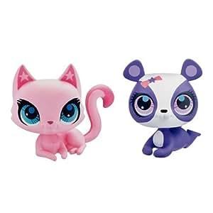 Littlest Pet Shop - A0527 - Poupée et Mini-Poupée - Penny Ling Le Panda et Chat