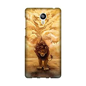 Yashas High Quality Designer Printed Case & Cover for Meizu M2 Note (Lion)