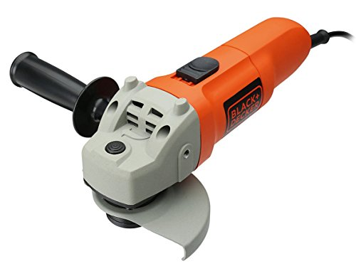 Black and Decker KG115 QS   Amoladora  115 mm  750 W  230 V  color gris y naranja