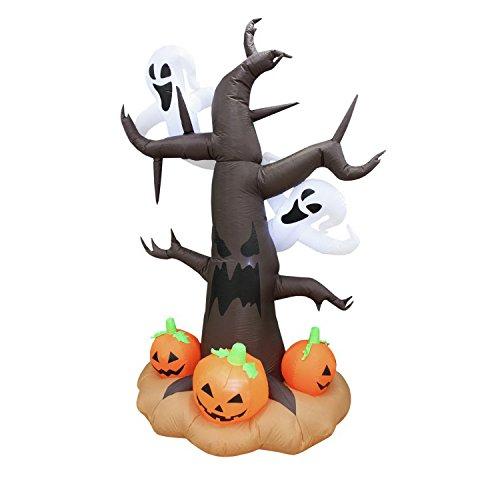 Europalms Aufblasbare Figur Spukbaum, (Aufblasbare Baum Halloween)
