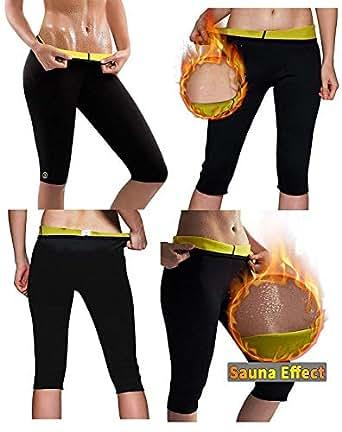 ba5e678001fa7 RUBS Women s Weight Loss Workout Leggings Easy Slim Hot Yoga Thigh ...