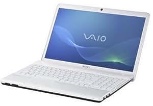 Sony Vaio EH3J1E/W 39,4 cm (15,5 Zoll) Notebook (Intel Core i3 2350M, 2,3GHz, 4GB RAM, 500GB HDD, NVIDIA 410M, DVD, Win 7 HP) weiß