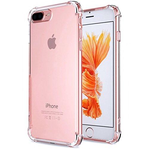 Apple iPhone 7Plus Case casehq Heavy Duty Schutz Dämpfung Bumper kratzfest Rückseite Technologie weicher TPU Advanced kratzfest Defense Shield, orange tronics cat casr trent quicksand, Clear iPhone7 Plus Case CaseHQ