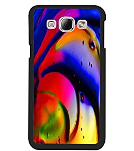 ColourCraft Beautiful Drawing Design Back Case Cover for SAMSUNG GALAXY A8