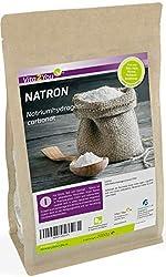Natron Pulver 2kg - Natriumhydrogencarbonat - Natriumbicarbonat - pharmazeutische Lebensmittelqualität - Backsoda