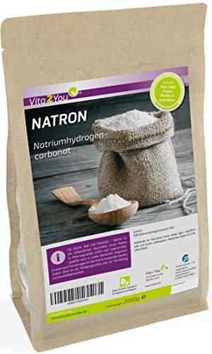 Natron Pulver 2kg - Natriumhydrogencarbonat - Natriumbicarbonat - pharmazeutische...