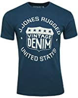 Jack & Jones Men's T-Shirt Selvedge