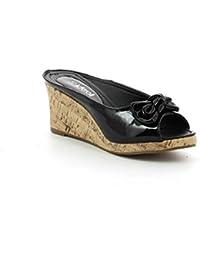 Ideal Shoes - chaussure femme compensées ZOE