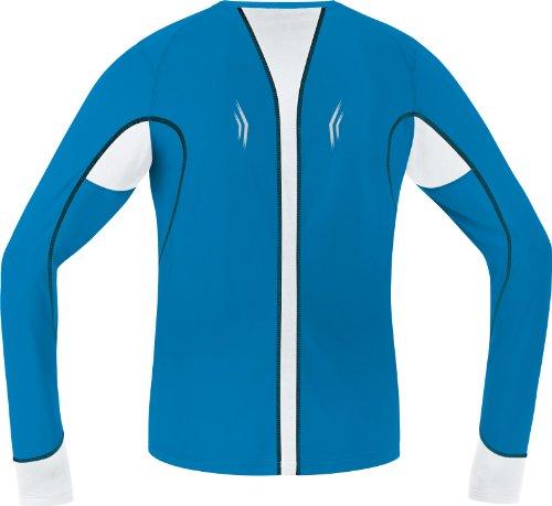 GORE RUNNING WEAR Herren Langarm-Lauftrikot, Air 4.0, SAIRLC Splash Blue/White