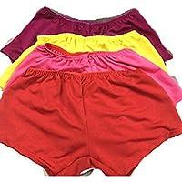 SUNZHENMulti-caramelle colorate pantaloni pettiskirt stadio prestazioni prestazioni abbigliamento ,giallo,entrambi