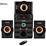 Vemax Aura 3.1 Bluetooth Home Theater System (Black & Copper)