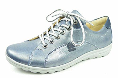 Hartjes  69662-4824, Chaussures de ville à lacets pour femme Bleu
