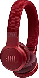 JBL Live 400BT kabellose On-Ear Kopfhörer - Bluetooth Ohrhörer mit bis zu 24 Stunden Laufzeit und Alexa-Integration - Musik hören und telefonieren unterwegs Weiß