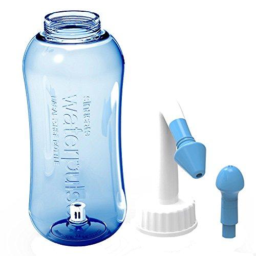vientiane 300 ml Nasendusche, Nasenspülung Nase Spülen bei Schnupfen/Allergie / Trockener Nase,Nasenreiniger für nasendusche Kinder und Erwachsenen