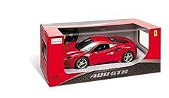 Idea Regalo - Mondo- Ferrari 488 GTB Veicolo Radiocomandato, Colore Rosso, Scala 1:14, 63418