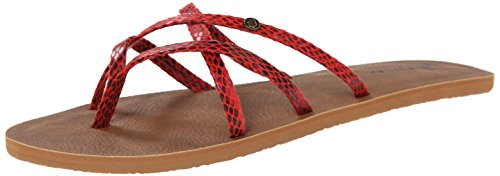 Volcom  New School Sndl, Tongs pour femme Rad red