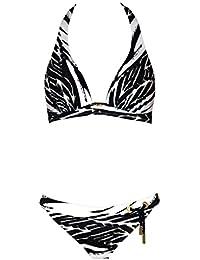 Autorisation De Vente Maryan Mehlhorn Rainforest Ensemble de Bikini à Imprimé Végétal - Vert 5080/502 Faible Expédition En Ligne La Sortie Pas Cher 6NEyCYZpG