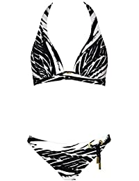 Maryan Mehlhorn Rainforest Ensemble de Bikini à Imprimé Végétal - Vert 5080/502