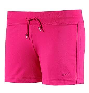Nike Damen Kurze Hose Regional Cl Jersey Solid, pink, XS