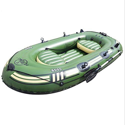 MX kingdom Bote Inflable, Kayak de Tres Personas con remos + Bomba,...