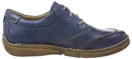 Josef Seibel Ladies Smu-neele 03 Derbys Blue (jeans)