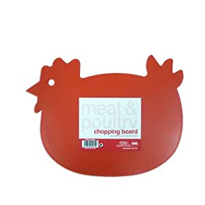 Chicken Shape Meat & Poultry Cutting, Chopping & Slicing Board for Kitchen by Royle Home