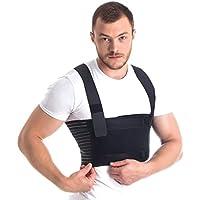 Männer Brust-Korsett mit Brustgurt mit Hosenträger Ideal bei koronaren postoperativen gebrochenen Rippen und Brustbein... preisvergleich bei billige-tabletten.eu