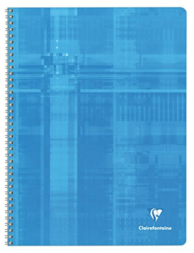 clairefontaine-notebook-180-pages-24-x-32-cm-squared-5-x-5-assorted-colours