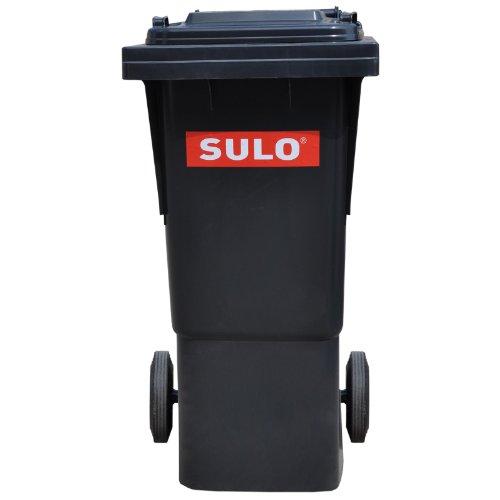 Sulo Müllgrossbehälter Fahrbar 60 Ltr Grau (Mülltonnen Rädern Mit)