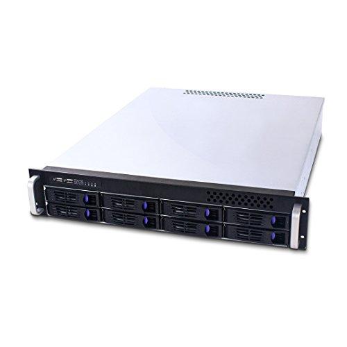 FANTEC SRC-2080X07 Storagegehäuse SATA 2HE 48,3cm (19