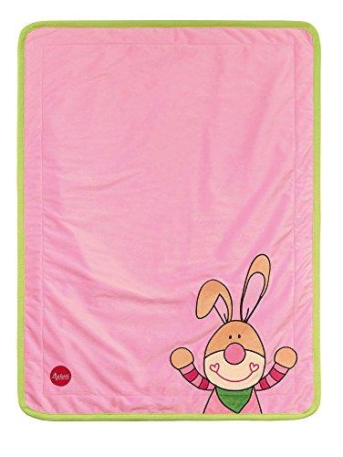 Mädchen Bungee (sigikid, Mädchen, Kuscheldecke Hase, Bungee Bunny, Rosa, 41558)