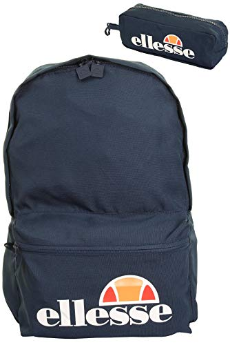 ellesse Rolby 0591 Backpack With Pencil Case, (H) cm x (L) cm x (W) cm, Marine
