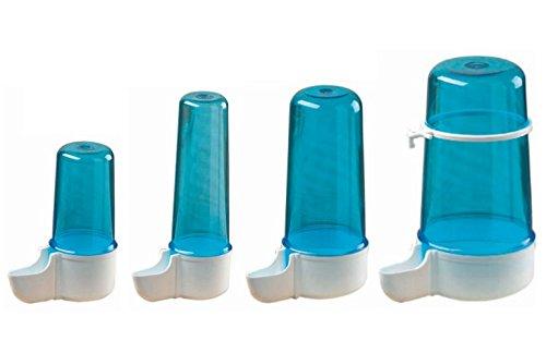Sifone - Abbeveratoio in plastica per uccelli, beverino per dissetare il tuo volatile (200 cc)