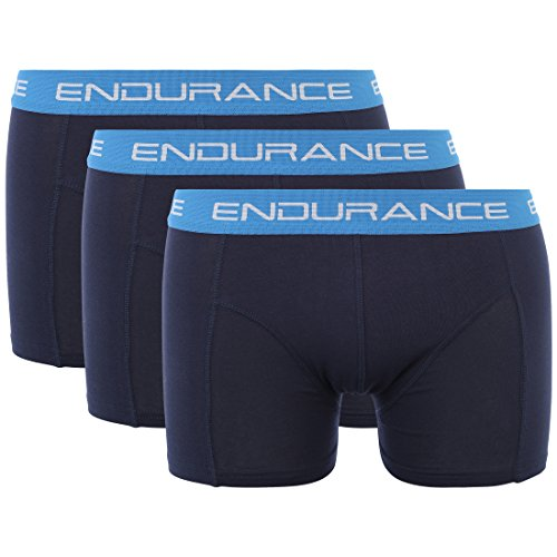 Ultrasport Endurance Herren Boxershorts Burke 3er-Pack, Navy, S