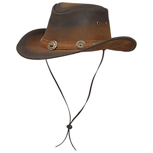 Tombstone Cappello in Pelle cappello da uomo cappello da cowboy cappello  australiano ab8dbd3e5dd0